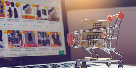 E-commerce Web Application for Online Shopping and Service Industry